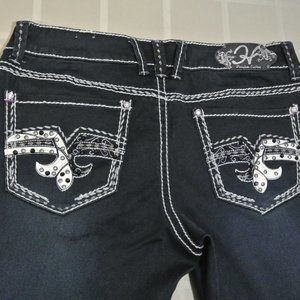 HYDRAULIC GRAMERCY 12R 34 x32 Women Dark Blue Jean